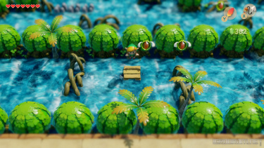 Геймплей та трейлер ремейку The Legend of Zelda: link's Awakening