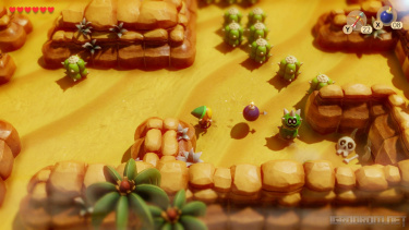 Геймплей и трейлер ремейка The Legend of Zelda: Link's Awakening 4